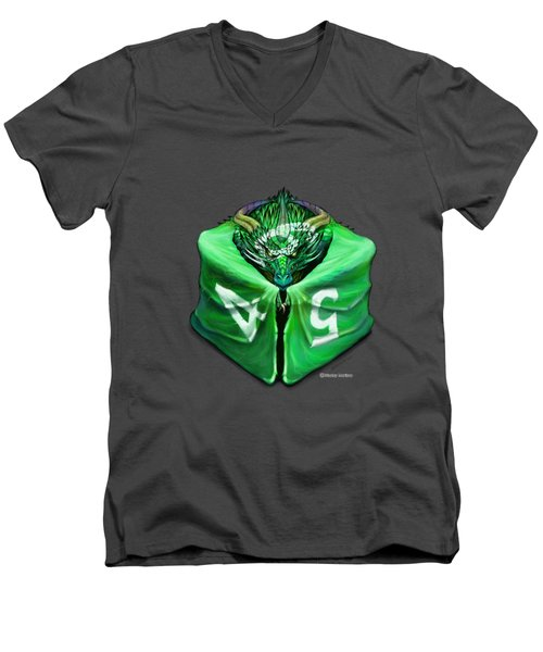 D6 Dragon Dice Men's V-Neck T-Shirt