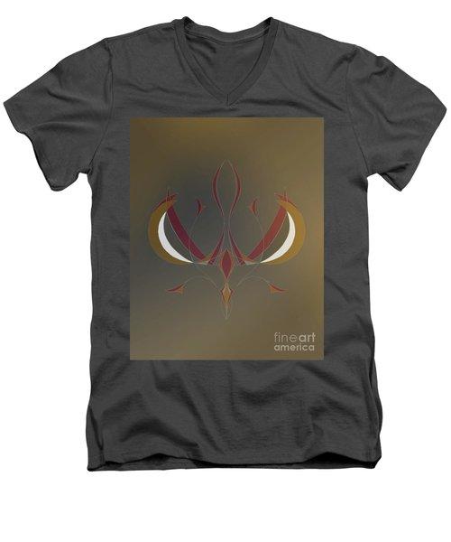 Da Vinci Spider Men's V-Neck T-Shirt