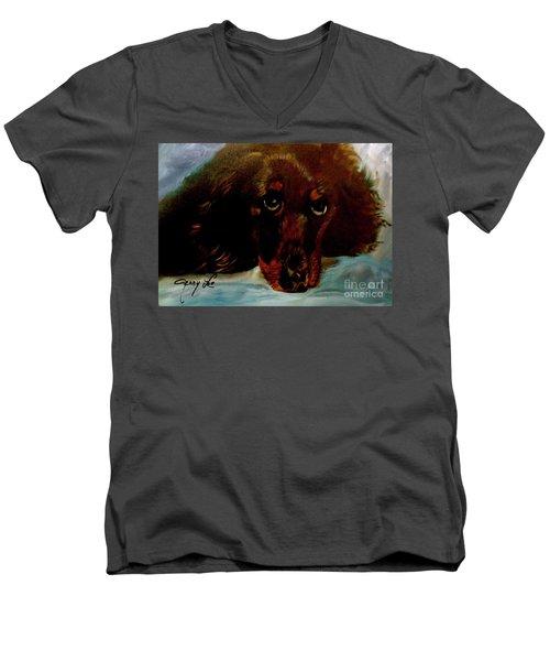 Dachshund Men's V-Neck T-Shirt