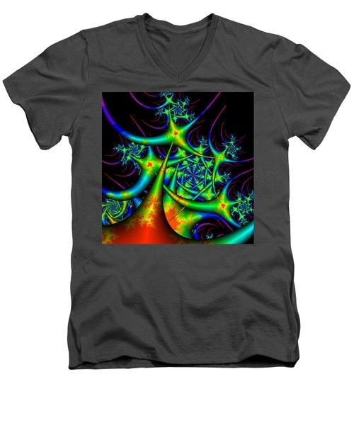 Dactimorse Men's V-Neck T-Shirt