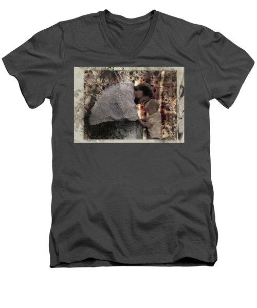 Daddys Hands Men's V-Neck T-Shirt