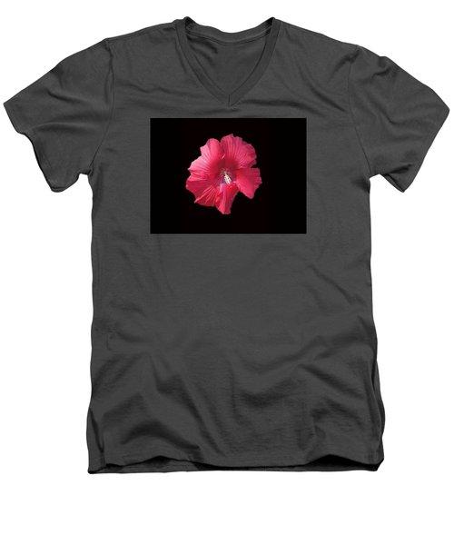 Dads Hibiscus Men's V-Neck T-Shirt