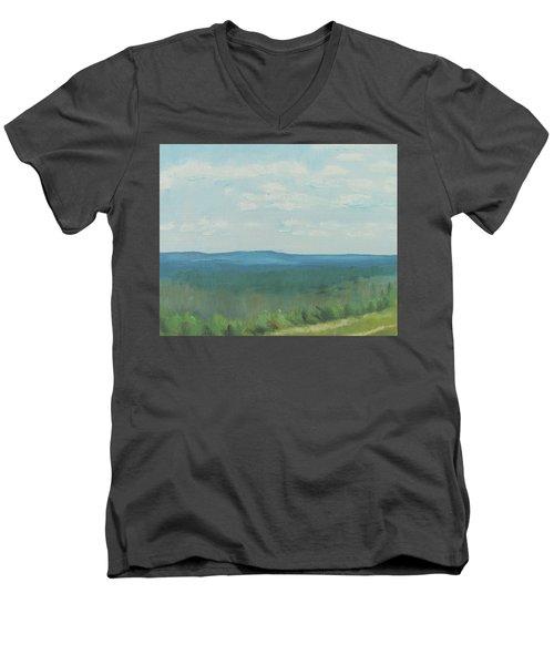 Dagrar Over Salenfjallen- Shifting Daylight Over Distant Horizon 3 Of 10_0029 50x40 Cm Men's V-Neck T-Shirt