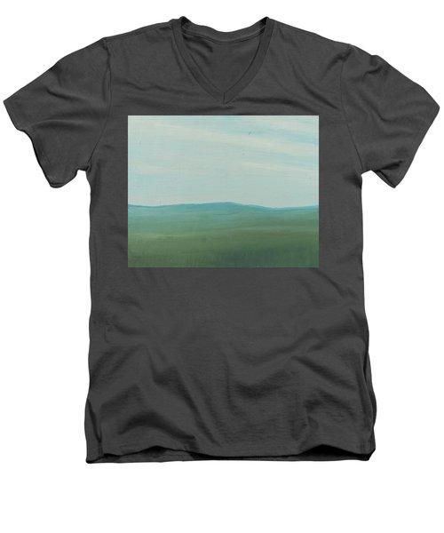 Dagrar Over Salenfjallen- Shifting Daylight Over Distant Horizon 4 Of 10_0029 51x40 Cm Men's V-Neck T-Shirt