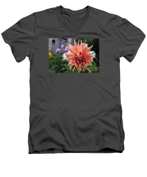 Dahlia - Inverness Men's V-Neck T-Shirt by Amy Fearn