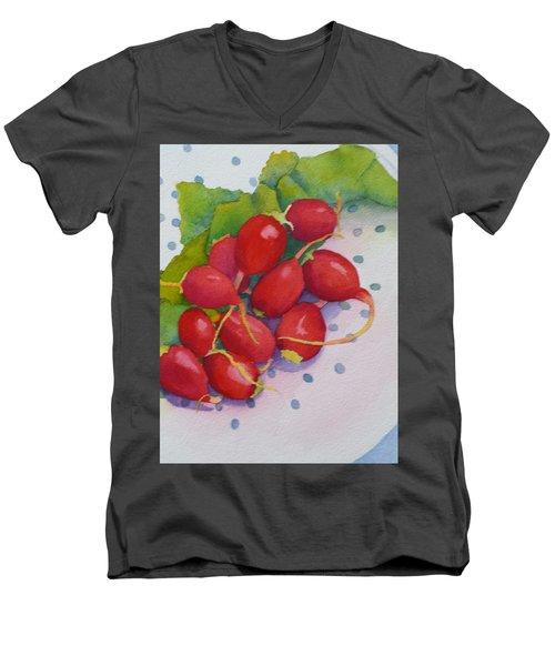 Dahling, You Look Radishing Men's V-Neck T-Shirt