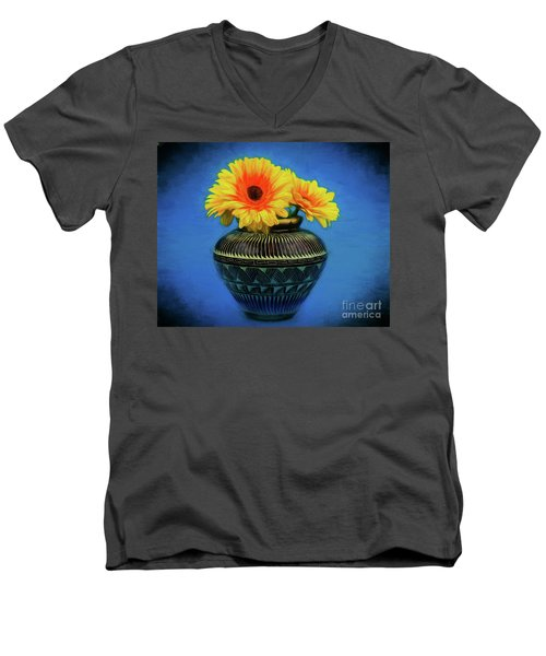 Daisy 121417-1 Men's V-Neck T-Shirt