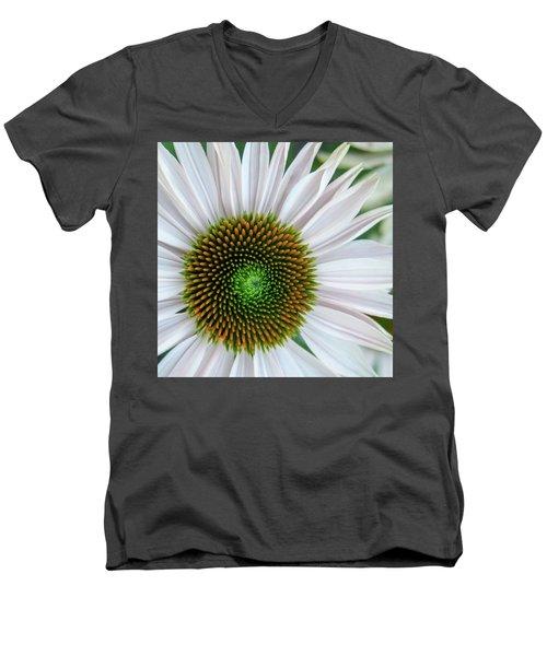 Daisy Center Men's V-Neck T-Shirt