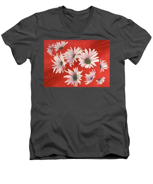 Daisy Chain Men's V-Neck T-Shirt