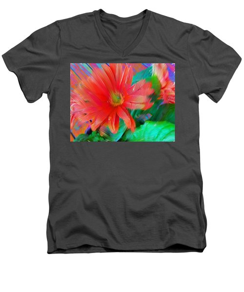 Daisy Fun Men's V-Neck T-Shirt