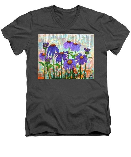 Daisy Masquerade Men's V-Neck T-Shirt