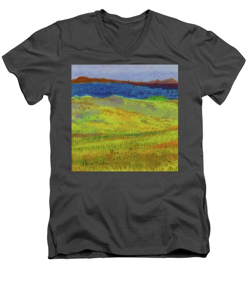 Dakota Dream Land Men's V-Neck T-Shirt
