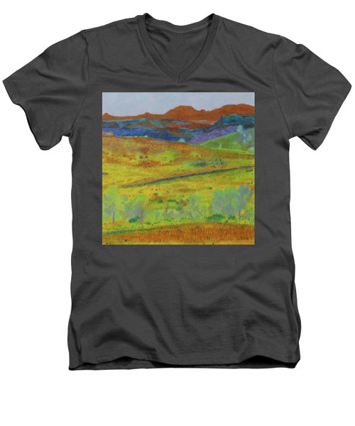 Dakota Territory Dream Men's V-Neck T-Shirt