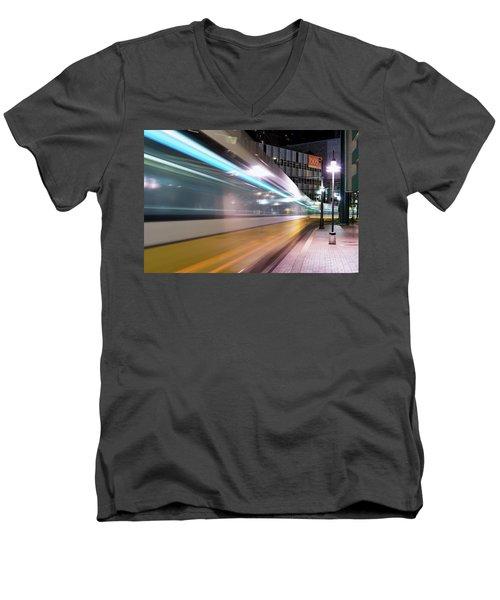 Dallas Dart Motion 012618 Men's V-Neck T-Shirt