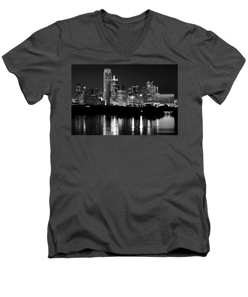 Dallas Nights Bw 6816 Men's V-Neck T-Shirt