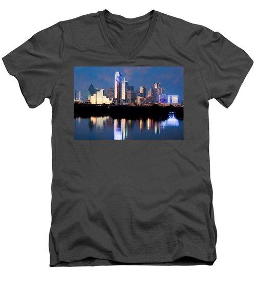 Dallas Skyline May 2015 Men's V-Neck T-Shirt