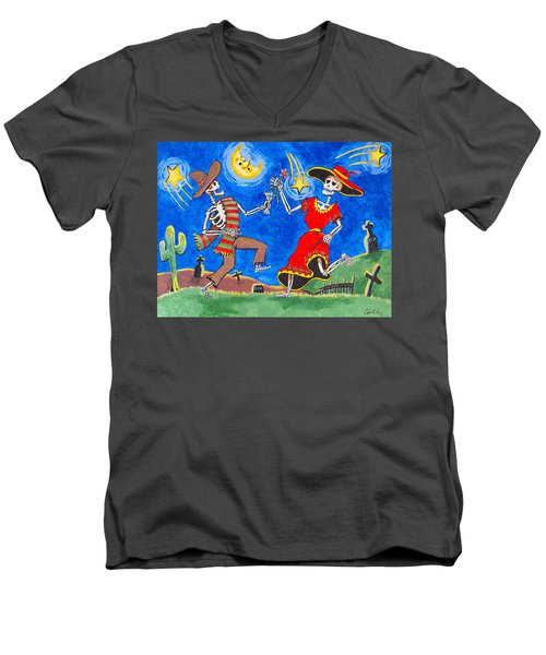 Dance Of The Dead Men's V-Neck T-Shirt