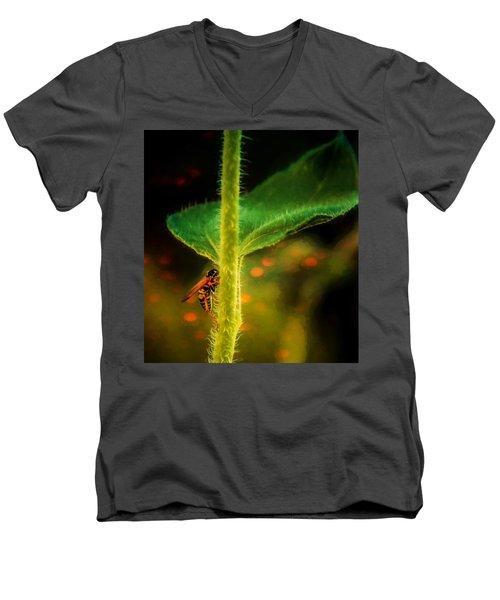 Dance Of The Wasp Men's V-Neck T-Shirt
