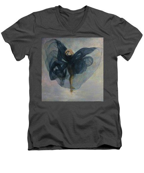 Dance With A Black Shawl Men's V-Neck T-Shirt