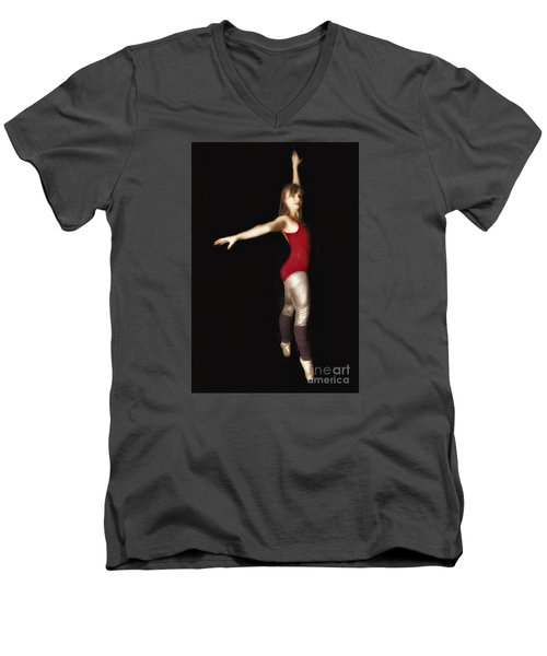 Dancer  No. 4 ... Men's V-Neck T-Shirt