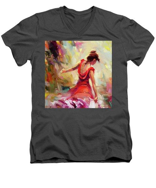 Dancer Men's V-Neck T-Shirt