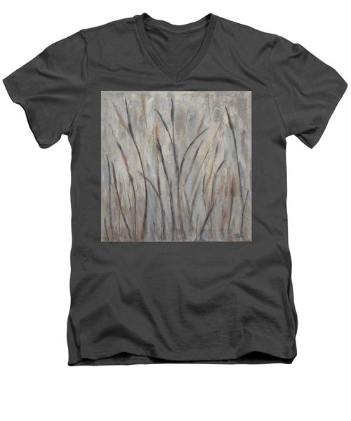 Dancing Cattails 2 Men's V-Neck T-Shirt