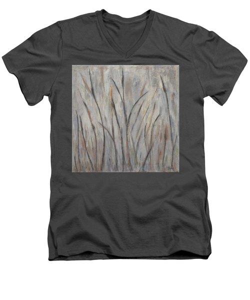 Dancing Cattails 2 Men's V-Neck T-Shirt