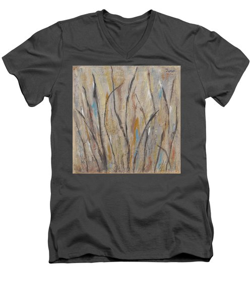 Dancing Cattails I Men's V-Neck T-Shirt by Trish Toro