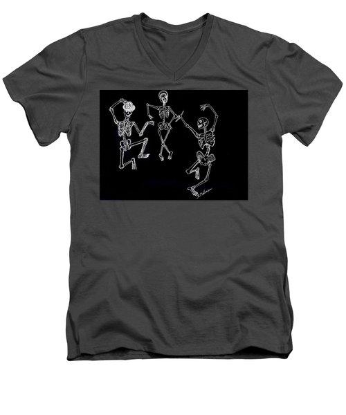 Dancing In The Dark Men's V-Neck T-Shirt