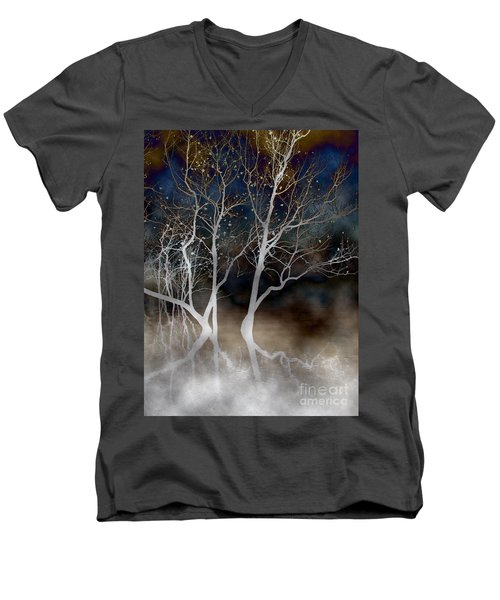 Dancing Tree Altered Men's V-Neck T-Shirt