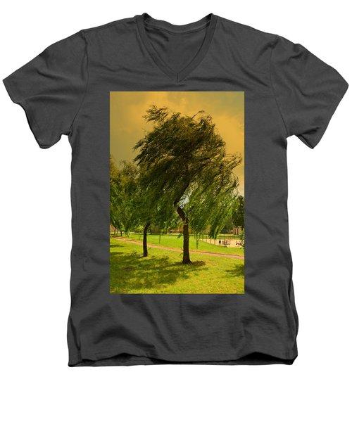 Dancing Willow Men's V-Neck T-Shirt