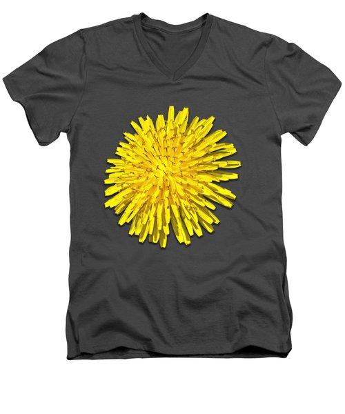 Dandelion 2 Men's V-Neck T-Shirt by Bob Slitzan