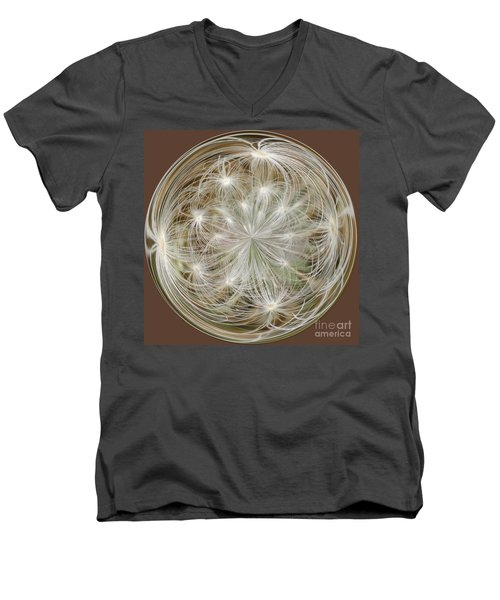 Dandelion Fluff Orb Men's V-Neck T-Shirt