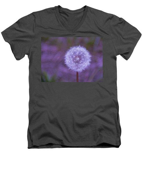 Dandelion Geometry Men's V-Neck T-Shirt
