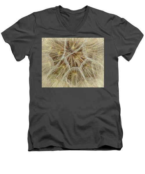 Dandelion Particles Men's V-Neck T-Shirt