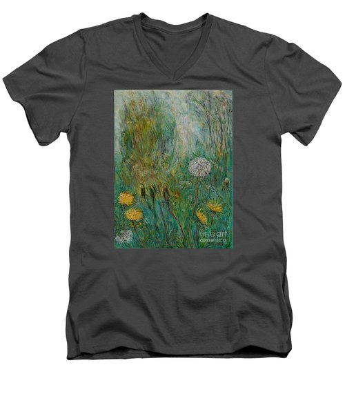 Dandelions Men's V-Neck T-Shirt