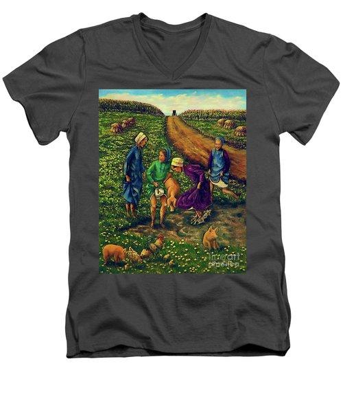 Dandy Day Men's V-Neck T-Shirt
