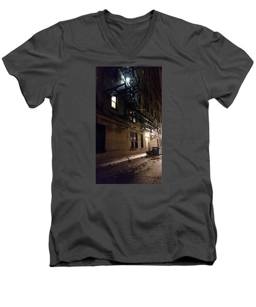 Dark And Rainy Night Men's V-Neck T-Shirt