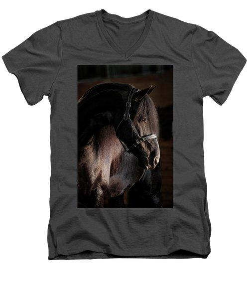 Dark Beauty Men's V-Neck T-Shirt