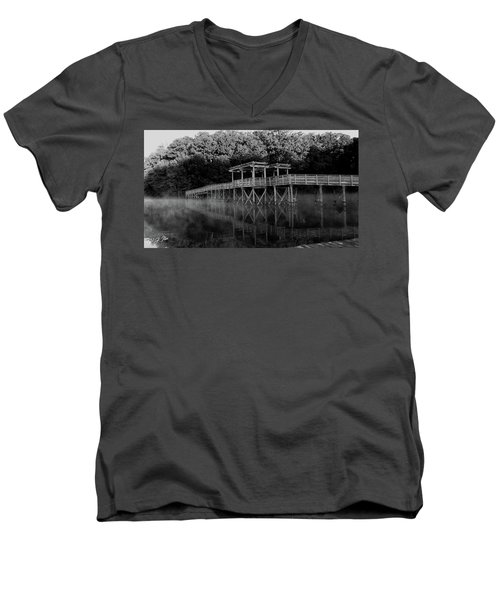 Dark Bridge Men's V-Neck T-Shirt