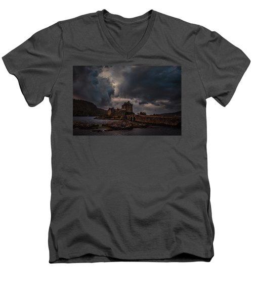 Dark Clouds #h2 Men's V-Neck T-Shirt