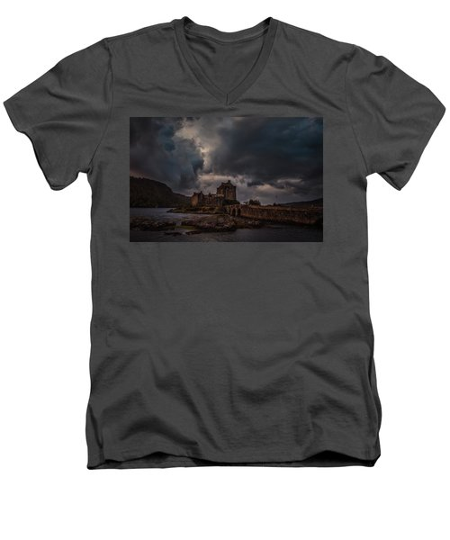 Dark Clouds #h2 Men's V-Neck T-Shirt