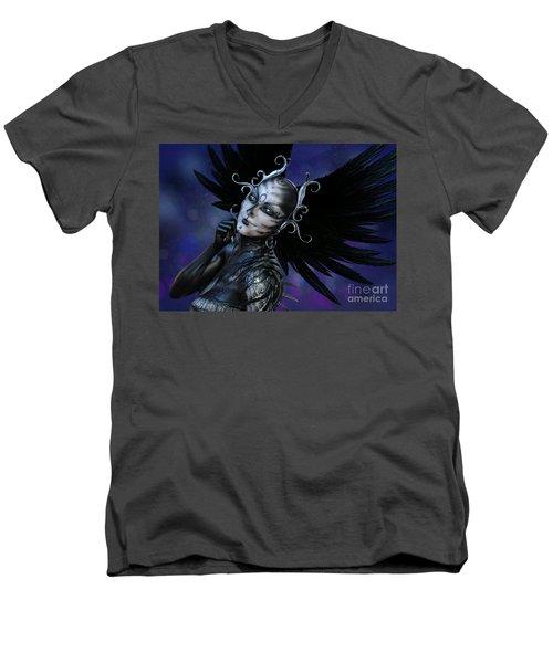 Dark Gaze Men's V-Neck T-Shirt