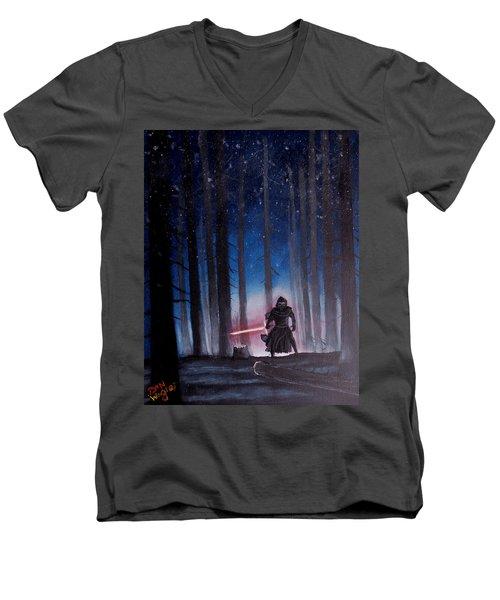 Dark Jedi Men's V-Neck T-Shirt