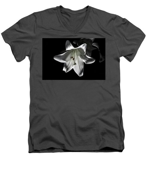 Dark Lilly Men's V-Neck T-Shirt