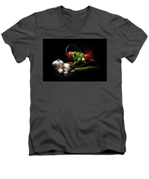 Dark Mood 1 Men's V-Neck T-Shirt