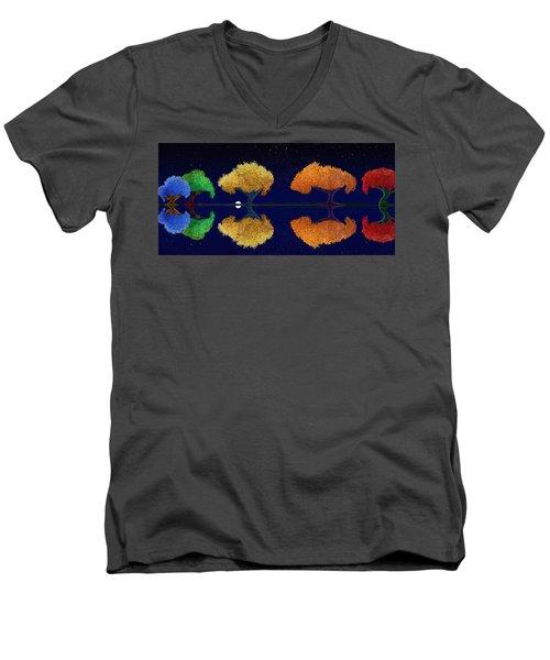 Dark Night Dance Men's V-Neck T-Shirt