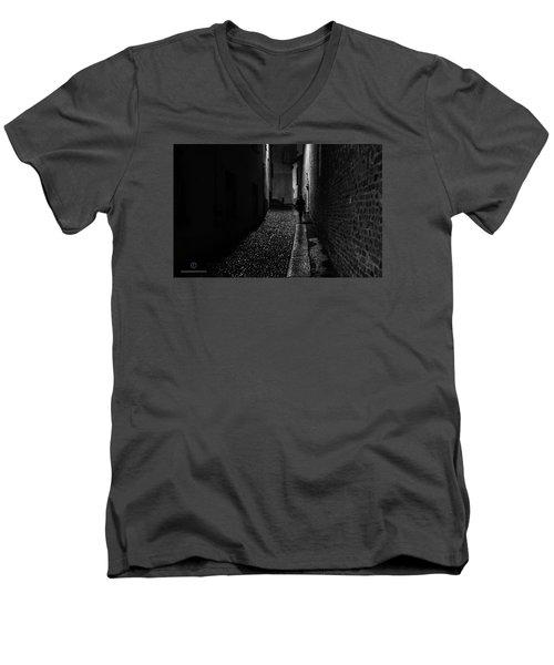 Dark Souls Men's V-Neck T-Shirt by Cesare Bargiggia
