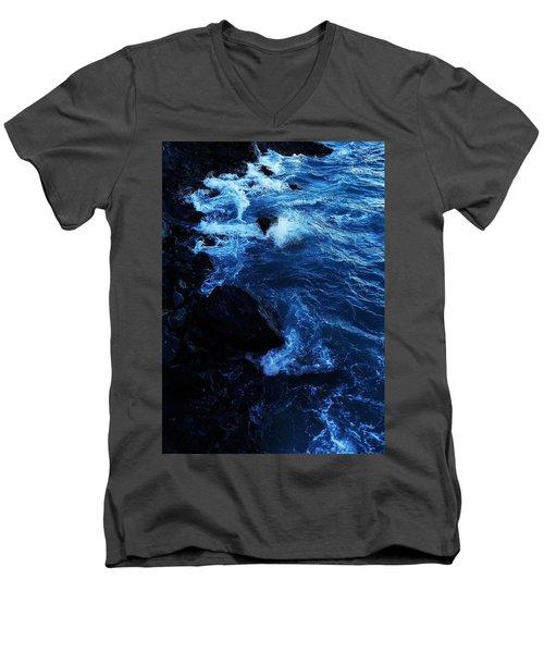 Dark Water Men's V-Neck T-Shirt