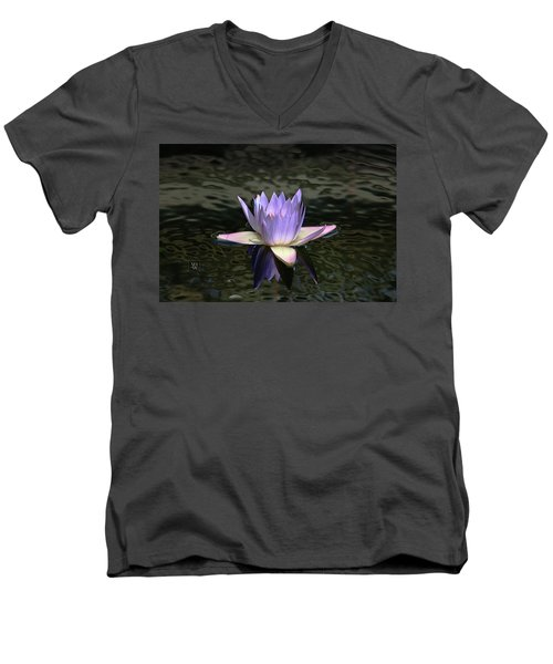 Dark Water Shimmering Men's V-Neck T-Shirt